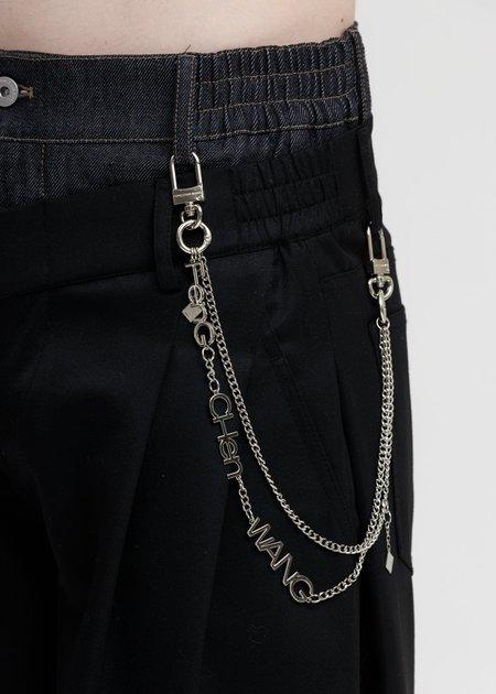 Feng Chen Wang FCW Steel Waist Chain - Silver