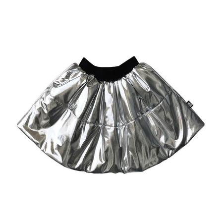 Kids LITTLE MAN HAPPY Sky Circle Skirt - Silver