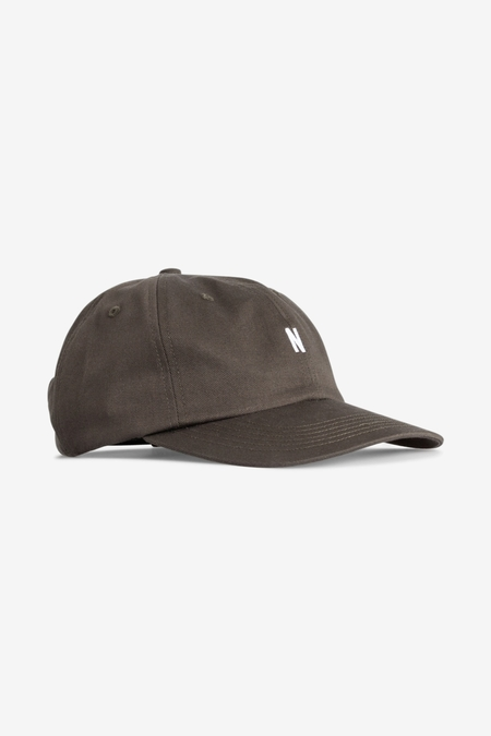 Norse Projects Twill Sports Cap - Beech Green
