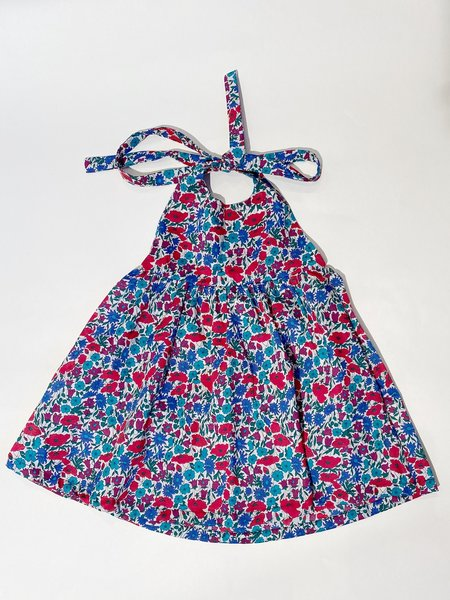 kids Mabo Kids Maya Halter Dress - multi