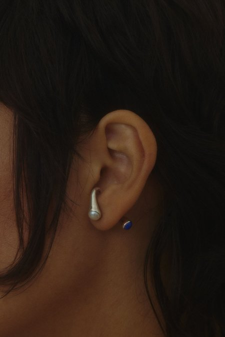Hernán Herdez PERLAZULI earrings - Sterling Silver