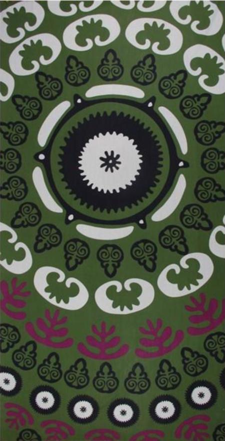 Les Belles Vagabondes Oural Cotton Scarf - Kaki