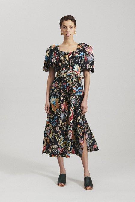 Rachel Comey Desidia Dress - Black Tapestry Floral