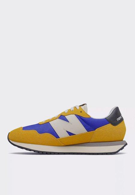 New Balance 237 Seasonal Heritage sneakers - yellow/blue
