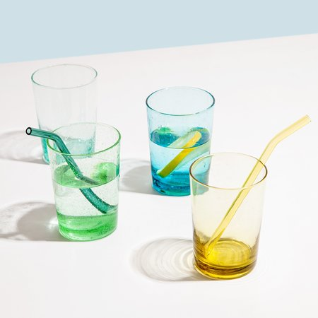 Poketo set of 4 Bubble Drinking Glasses