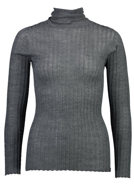 Standard Issue Merino Tulle Skivvy - Grey