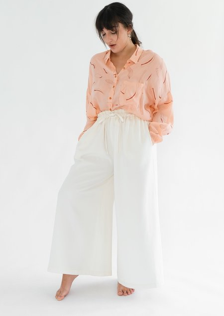 OhSevenDays Heather Trousers - White