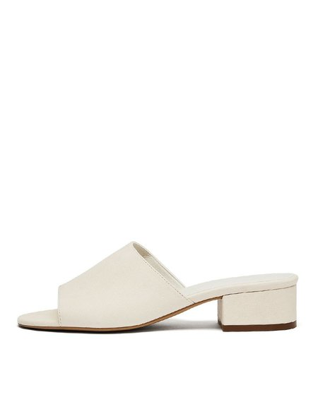nine to five maia mules slides - off white