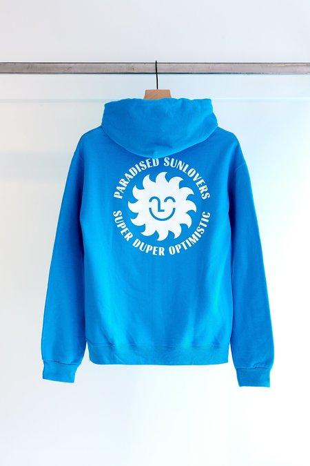 Paradised Super Duper Hoodie - Blue