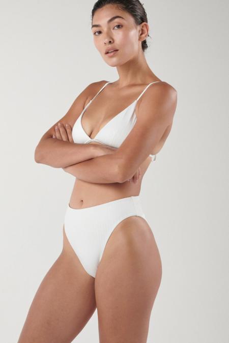 Ookioh Dead Sea Bikini Bottom - White Rib