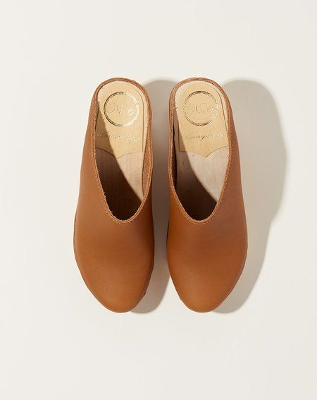 No.6 New School Wedge Clog - Palomino