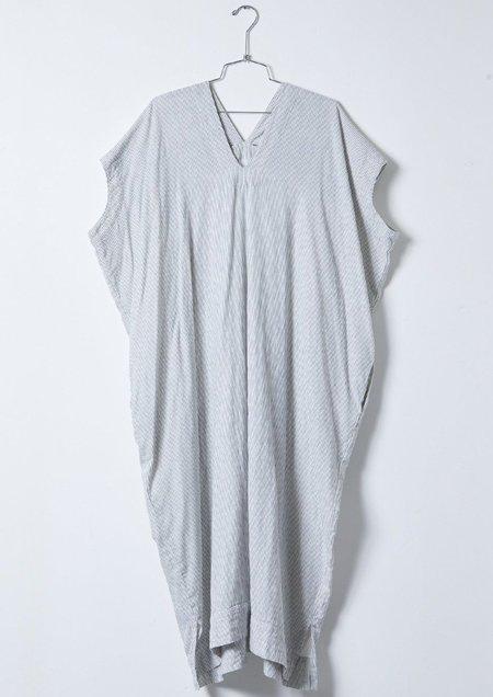 Atelier Delphine Crescent Long Dress - Stripe