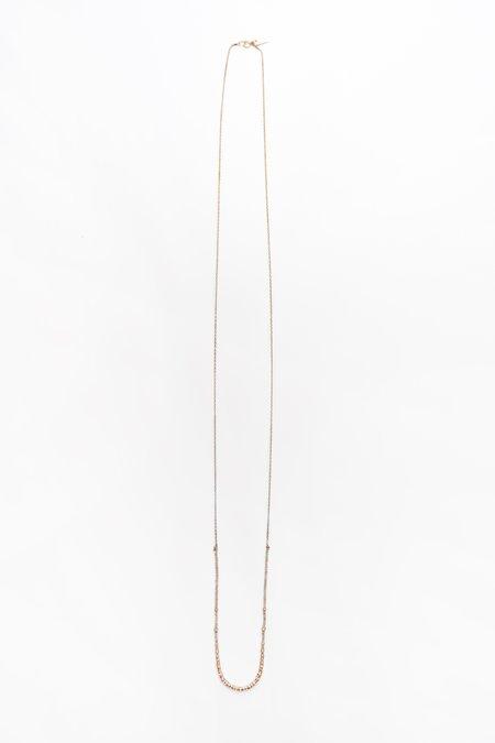 Iwona Ludyga Long Half Crystal Necklace - Plene Lune