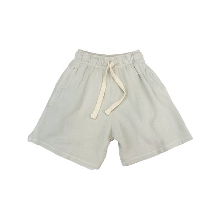 Jungmaven FRENCH TERRY DRAWSTRING SHORT - SPACESUIT WHITE