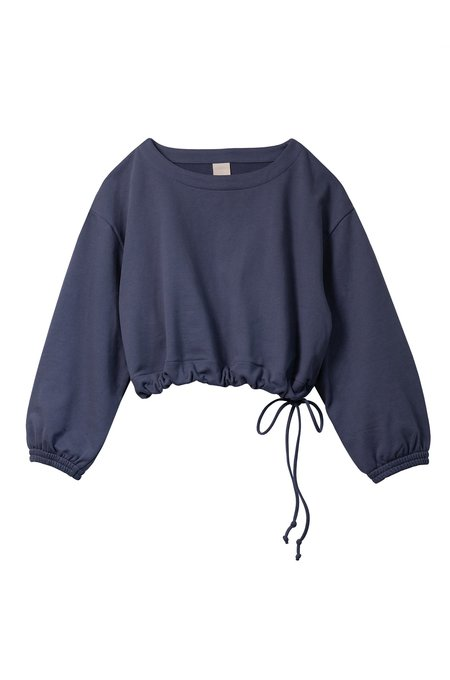 Soft Focus The Scrunch Sweatshirt - Graphite