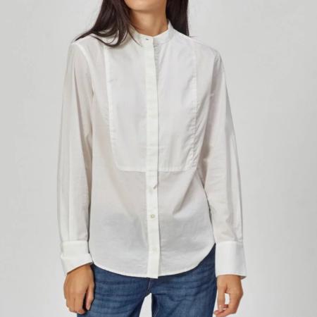 Equipment Tomassia Cotton Shirt - Bright White