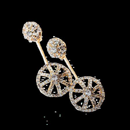 Elizabeth Cole Bridget Earrings - Gold