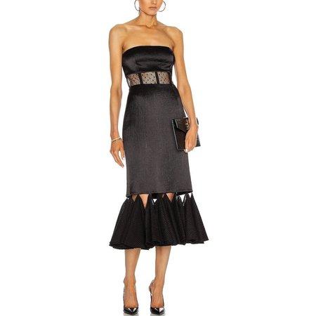 Alexis Verbana Long Dress - Black