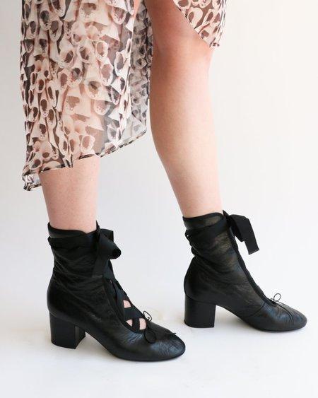 [pre-loved] Valentino The Ballerina Boot - Black
