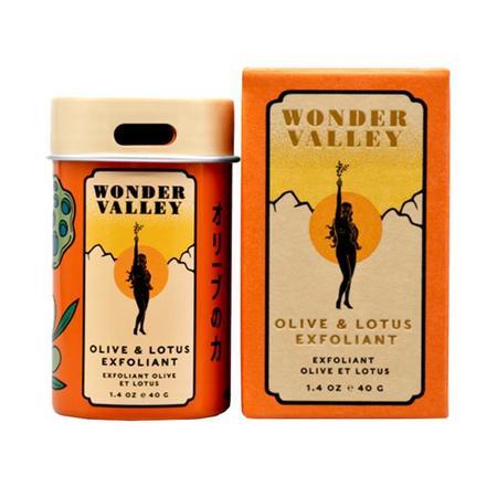 wonder valley OLIVE & LOTUS EXFOLIANT