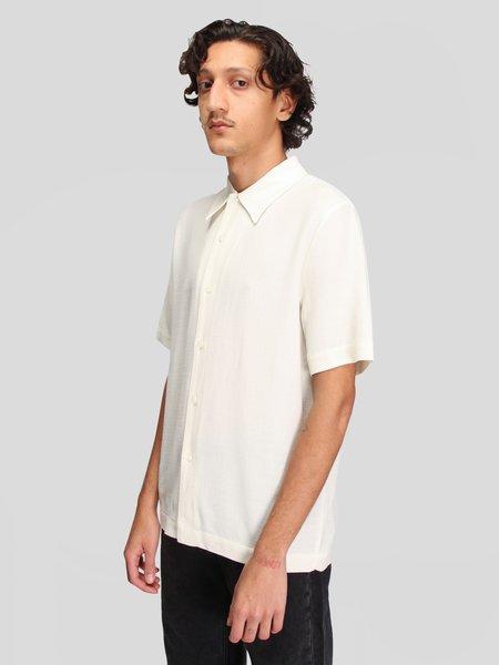 Séfr Rampoua Short Sleeve Shirt - Off White