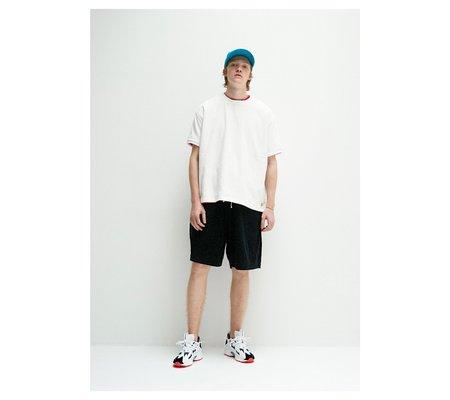 UNISEX Thing Fabrics Short Pile T-Shirt - Black