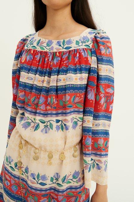 Antik Batik Christina Silk Dress - Multi