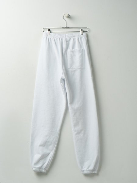 Sporty & Rich Upper East Side Sweatpants - White/Navy
