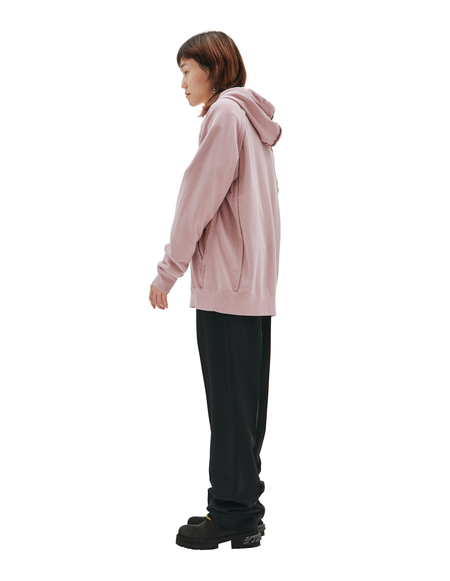 Undercover Zipped Hoodie - Pink