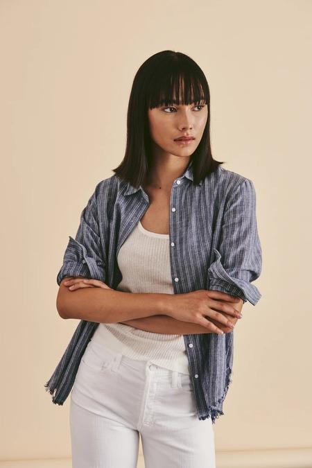Line Callie Shirt - Chambray Stripe