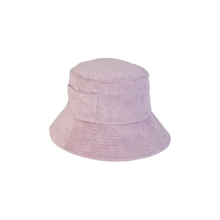 Lack of Color Wave Bucket Hat - Lavender Terry
