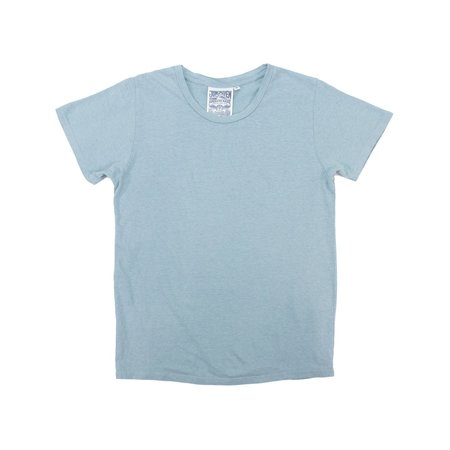 Jungmaven LOREL TEE - ETHER BLUE