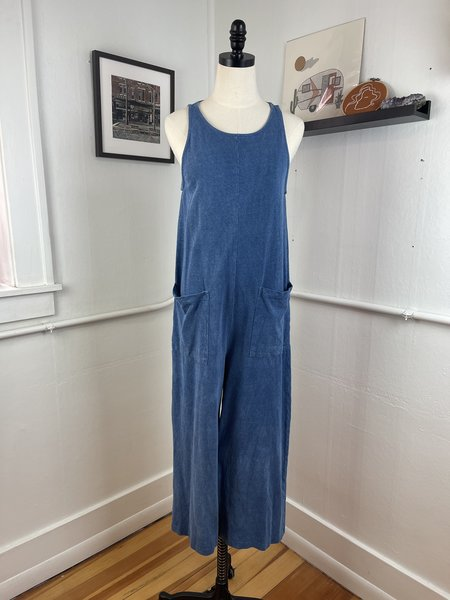 [pre-loved] Back Beat Co. Dyed Jumpsuit - Indigo