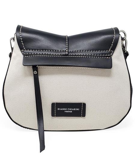 Gianni Chiarini Helena Round Riviera Handbag/Crossbody Bag - Black