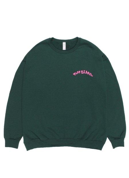 WACKO MARIA Tim Lehi Crew Neck Type 2 Sweat Shirt - Green