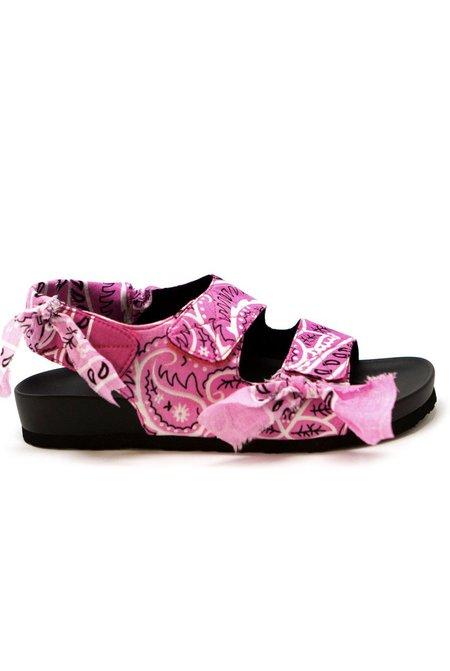 Arizona Love Apache Bandana sandals - Pink