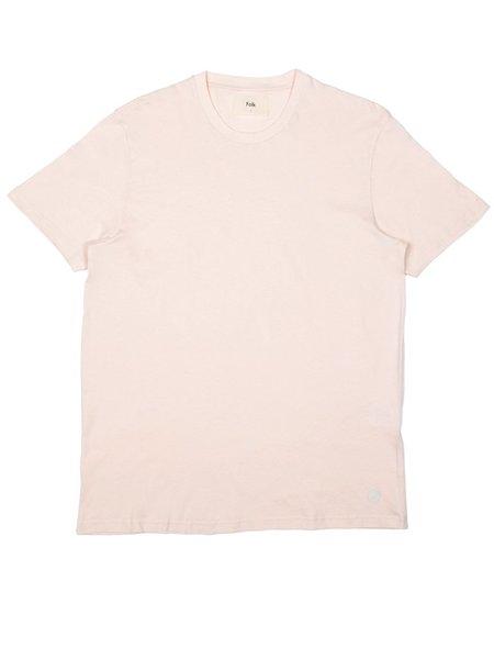 Folk Clothing Slub Assembly Tee - Pink