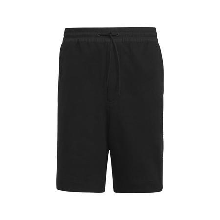 adidas Y-3 3 Stripe Terry Shorts - Black