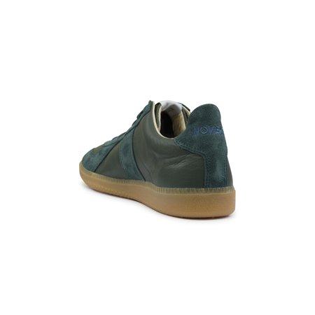 Novesta Gat All Leather Gum Sneaker - Teal