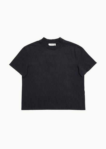 AMOMENTO Garment Dyed T-shirt - Blue Grey
