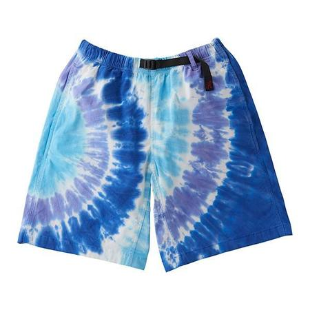 Unisex Gramicci Tie-Dye G-Shorts - Blue Psychedelic