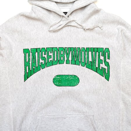 Raised by Wolves SPORTS HOODIE sweater - white