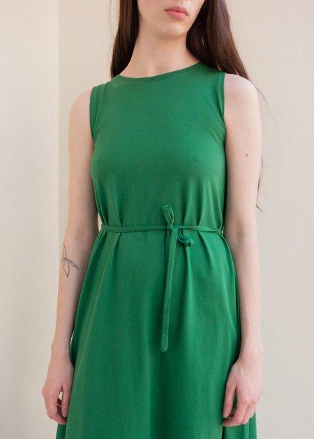 Kowtow Tank Swing Dress - Evergreen
