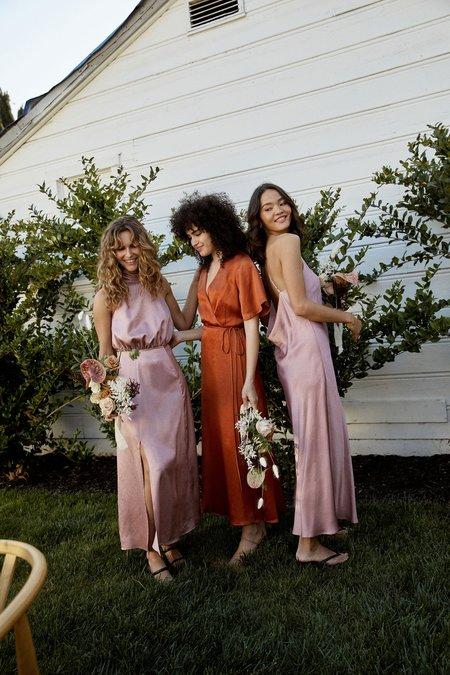 Whimsy + Row Fiona Dress - Blush