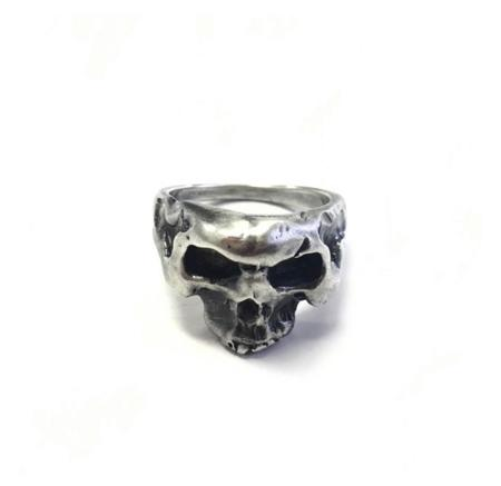 Shelton Metal SKULL RING - Sterling Silver