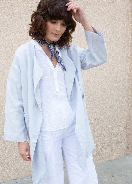 Filosofia Caroline Linen Jacket - Hazy Grey