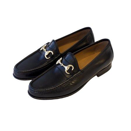 Yuketen Moc Ischia Vitello shoes - Nero