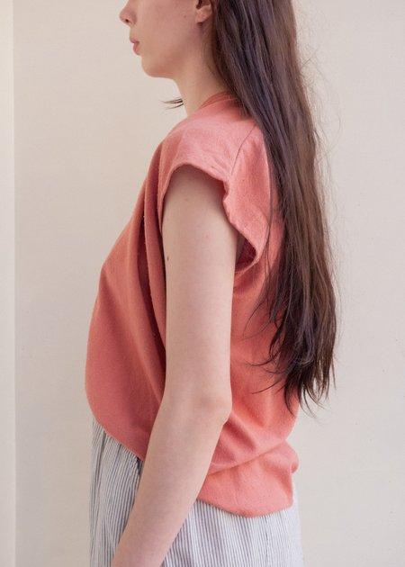 Miranda Bennett Silk Noil Petite Everyday Top - Yucatan