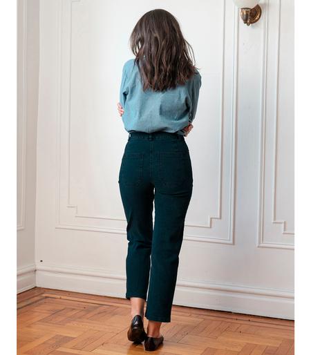 Loup Parker Highwaisted Jeans - Dark indigo