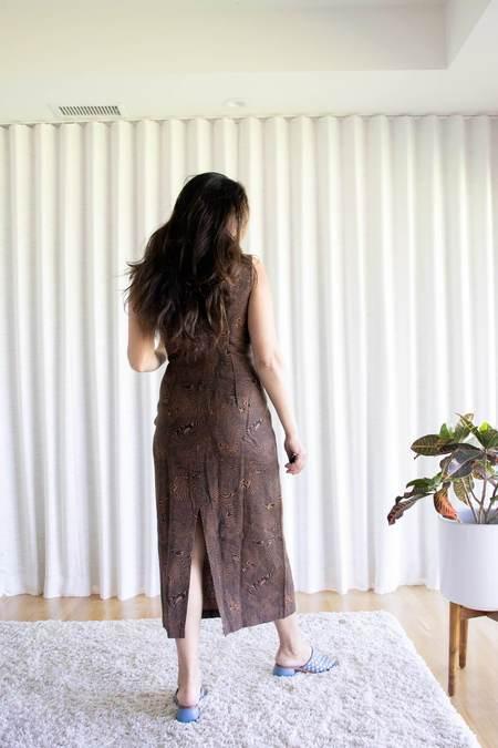 Paloma Wool Joey Dress - huella print